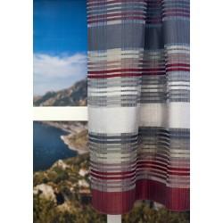 Perdea cu modele orizontale multicolor, 145cm, 91106_404