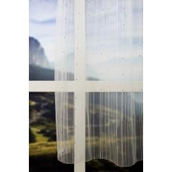 Perdea alba, cu dungi verticale, 290cm, G12408_102