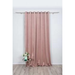 Draperie Castellano catifea, 280cm, roz pal