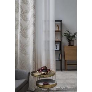 Draperie Carrara 140*260cm bej-auriu, gata facuta