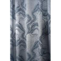 Draperie Carrara 280cm, albastru-gri